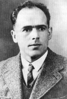 Portrait von Franz Jägerstätter- St. Radegund/ Schärding 2. Weltkrieg - 1939 -  1945 *** Local Caption *** St. Radegund
